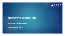 Investor Presentation - November 2018